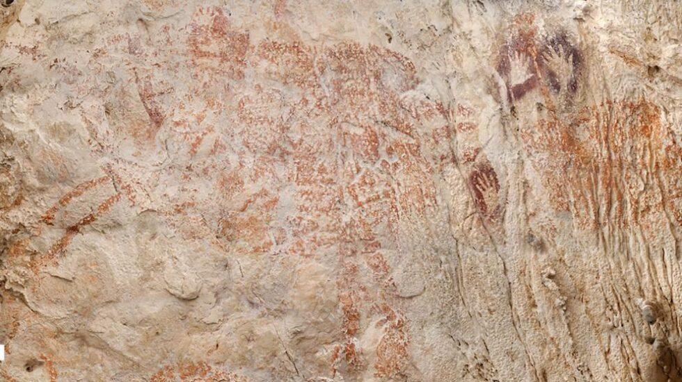 La pintura figurativa más antigua de la historia hallada en Borneo.