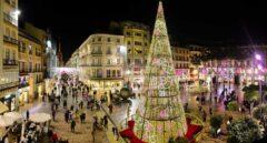 Plaza Constitución de Málaga, Navidad 2017