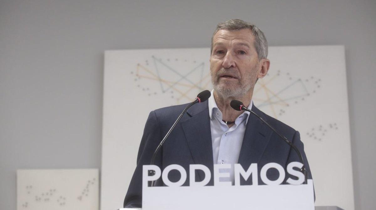 El líder de Podemos en Madrid Julio Rodríguez