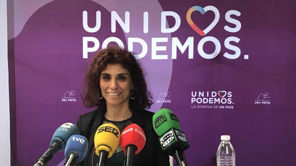 Rosana Alonso, secretaria general de Podemos Cantabria.