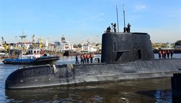 El submarino argentino San Juan.