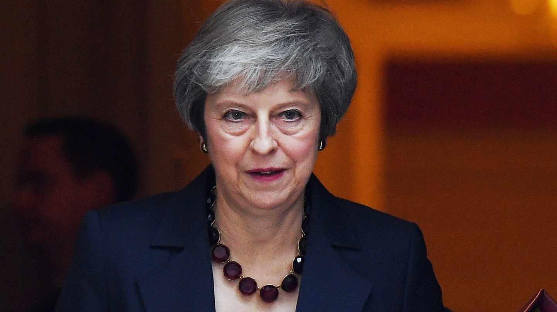 La primera ministra británica, Theresa May, ha comparecido ante el Parlamento.
