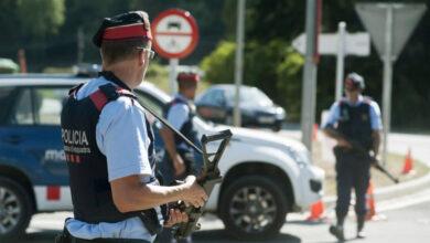 Los Mossos d'Esquadra trabajan en un posible cierre global de Cataluña