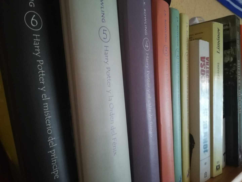 La librería de Miguel, la saga de Harry Potter junto a 'Limonov', de Carrère.