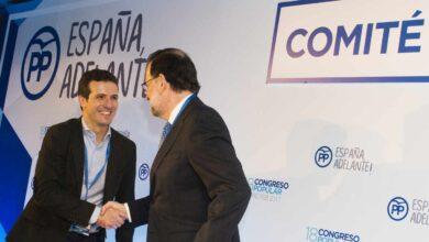 Casado almuerza con Rajoy cinco días después de la marcha de Cospedal