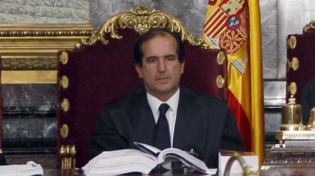 El juez Andrés Martínez Arrieta.