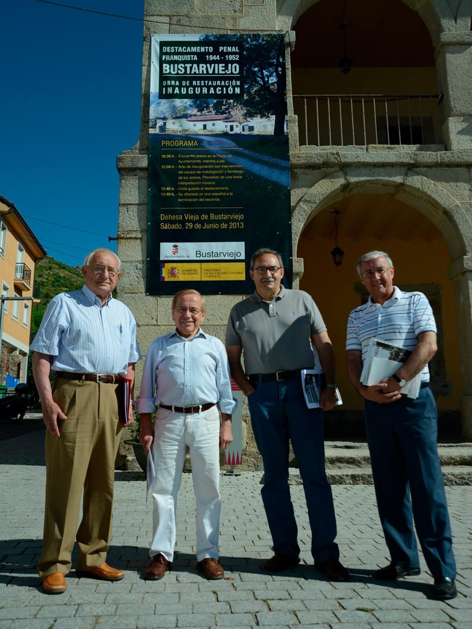 Miembros de la Asociación de Presos Represaliados