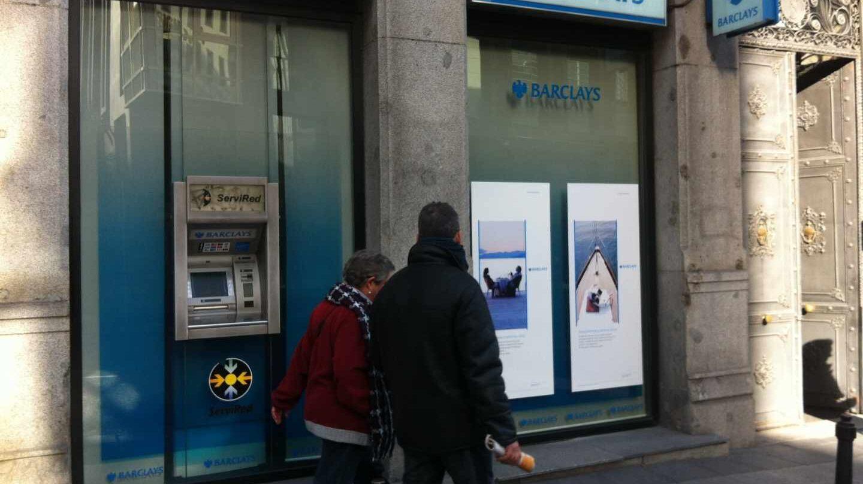 Sucursal del banco británico Barclays.