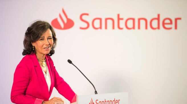 La presidente de Santander Ana Botín.