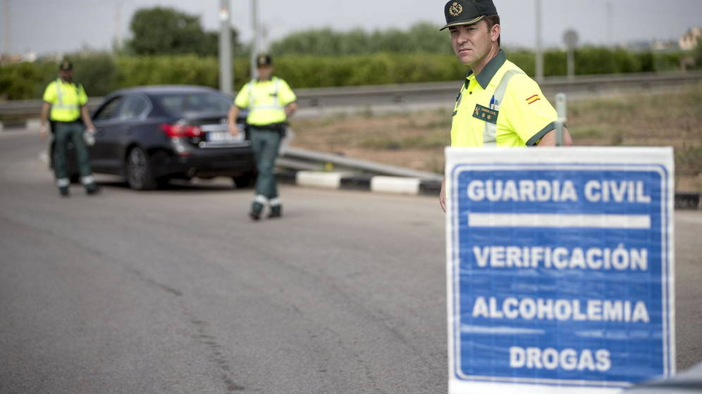 Campaña de la DGT contra el uso de drogas y alcohol.