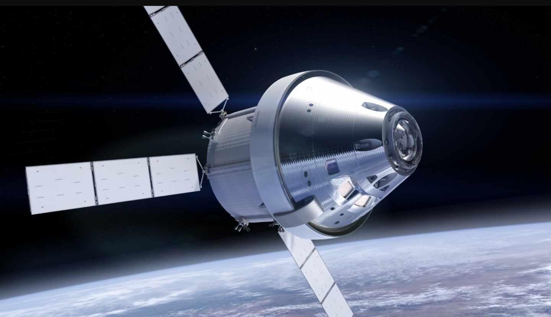 Rénder de la nave Orión