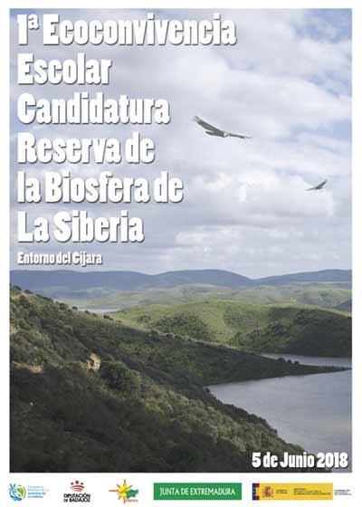 Cartel de la candidatura de la Siberia Extremeña para la Reserva de la Biosfera