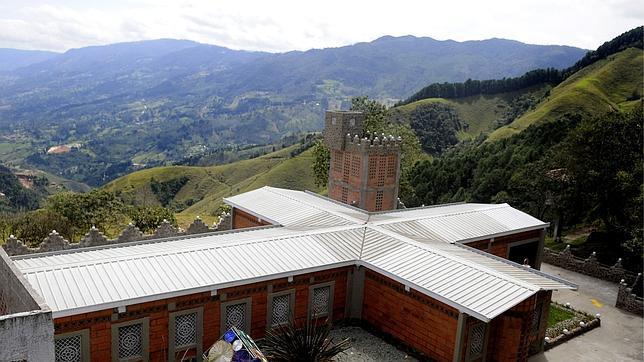 La Catedral, donde estaba preso Pablo Escobar.