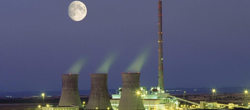 La central de carbón de Andorra (Teruel), gestionada por Endesa.
