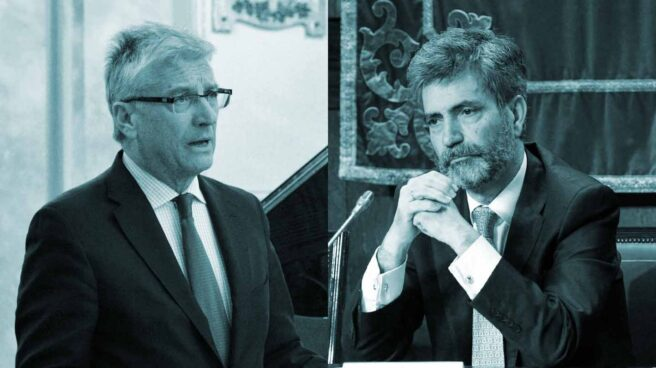 Luis Díez-Picazo y Carlos Lesmes