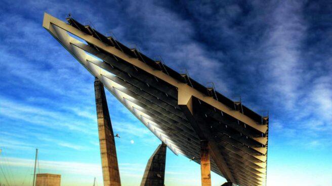 Instalación fotovoltaica en Barcelona.