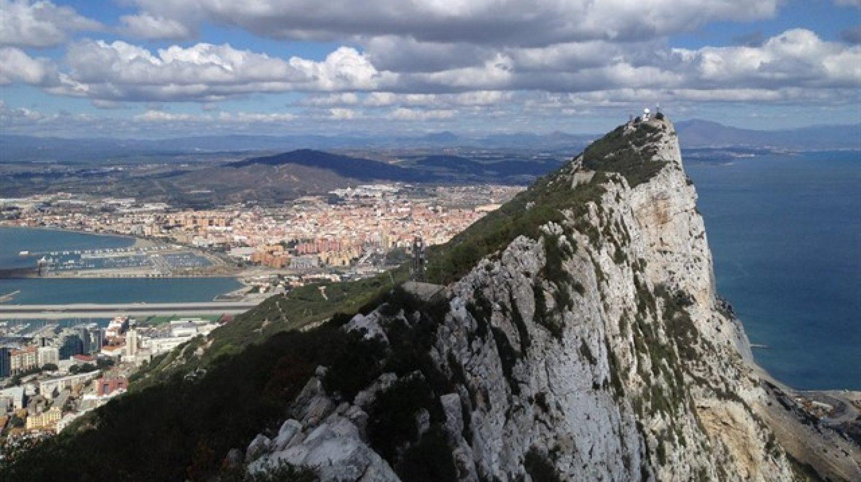 El peñón de Gibraltar.