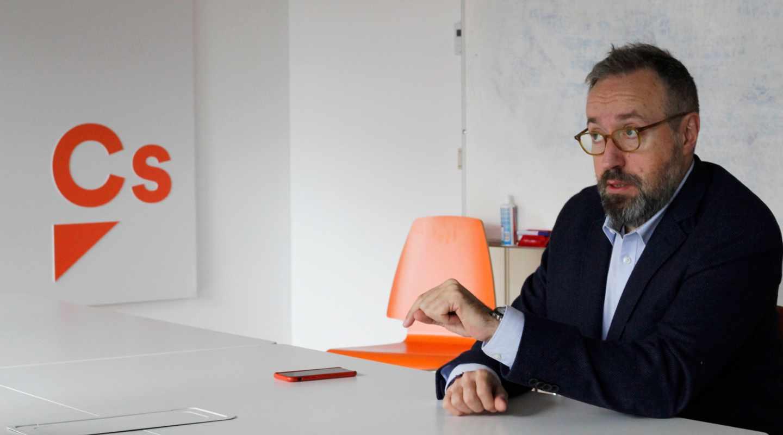 El portavoz de Ciudadanos en el Congreso, Juan Carlos Girauta.