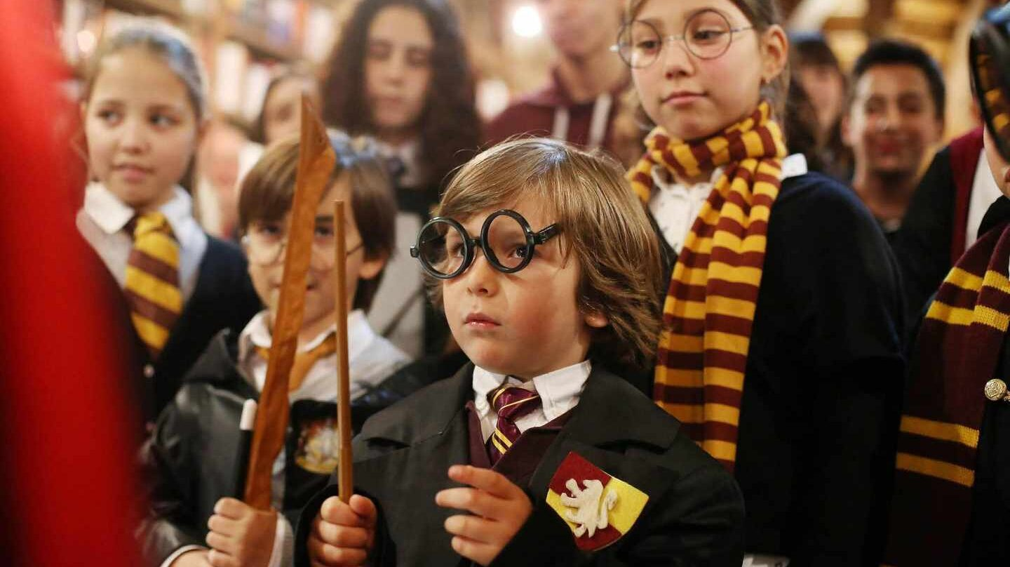 Fans de Harry Potter.