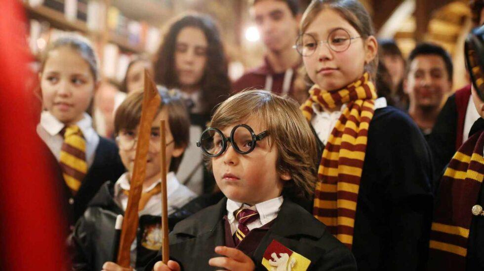 Fans de Harry Potter.