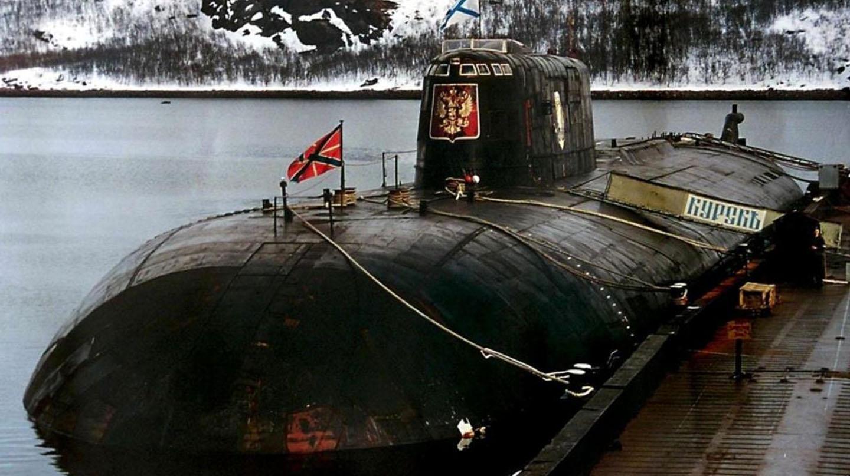 El Kursk en el puerto de Murmansk