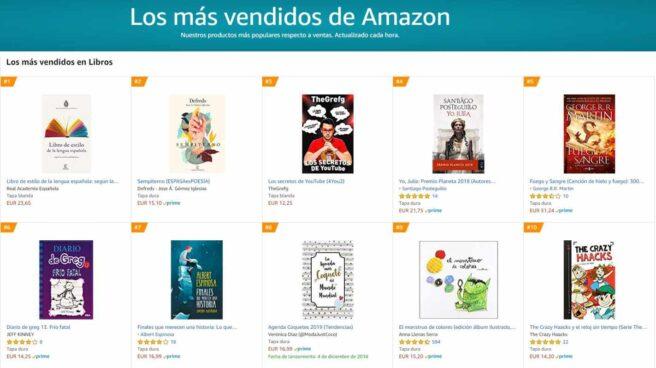 El libro de estilo de la RAE, el más vendido en Amazon tras su rechazo al lenguaje inclusivo.
