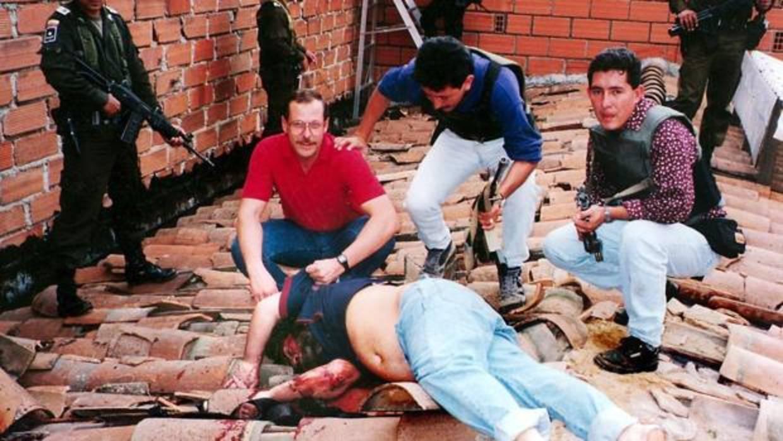 La muerte de Pablo Escobar.