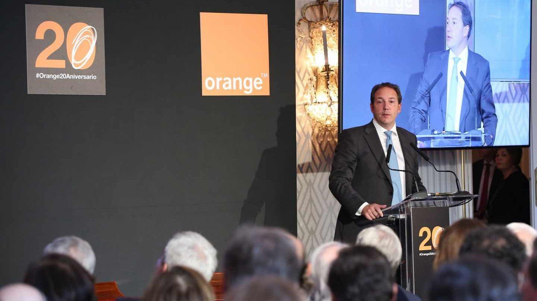 El consejero delegado de Orange España, Laurent Pallaissot.