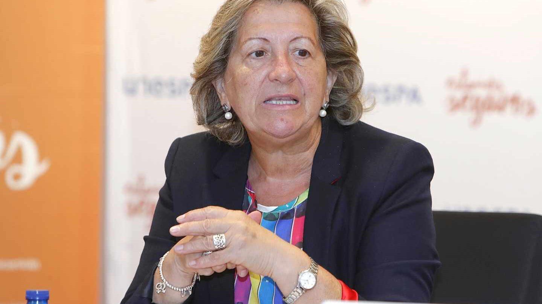 La presidenta de Unespa, Pilar González de Frutos.