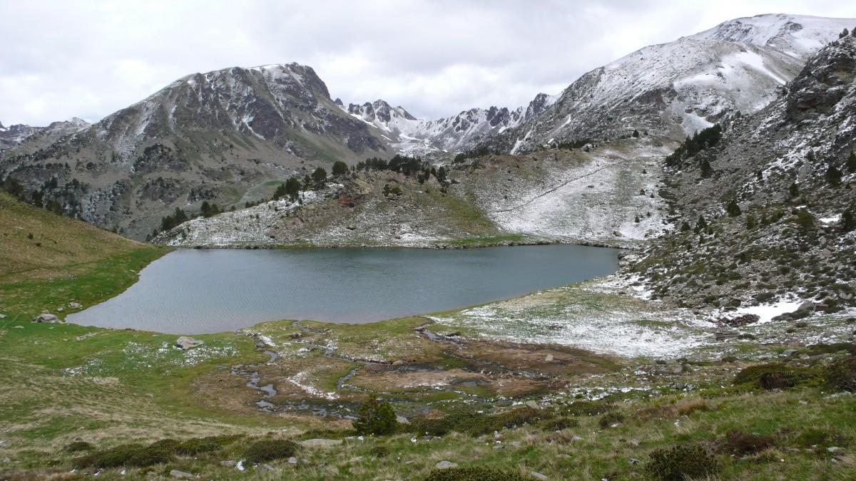 Circo glaciar pirenaico