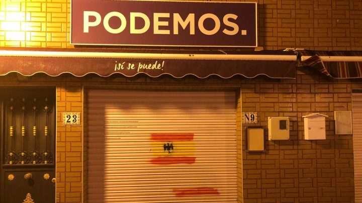 Sede de Podemos en Ceuta.