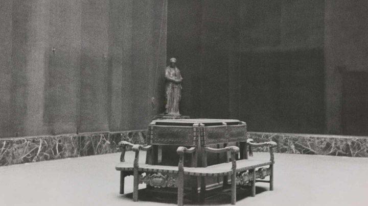 Estado en el que se halló el museo al ser liberado Madrid. Sala IX. Madrid, Museo Nacional del Prado.