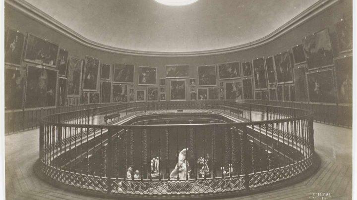 Museo del Prado, vista de la Sala de la Reina Isabel II Juan Laurent y Minier Positivo fotográfico.