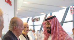El PSOE pide explicaciones a Zarzuela por la foto de Juan Carlos I con el heredero saudí
