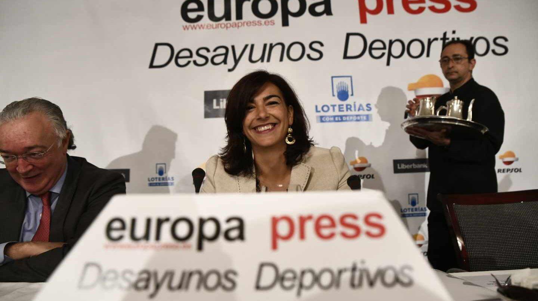La secretaria de Estado de Deporte y presidenta del Consejo Superior de Deportes, María José Rienda.
