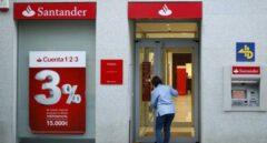 Santander mejora el ERE: 249 personas menos y el 75% del sueldo desde 58 años