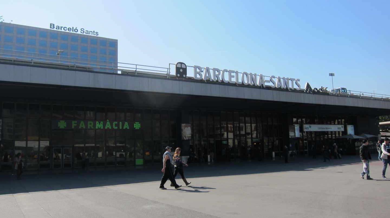 Estación de Sants.