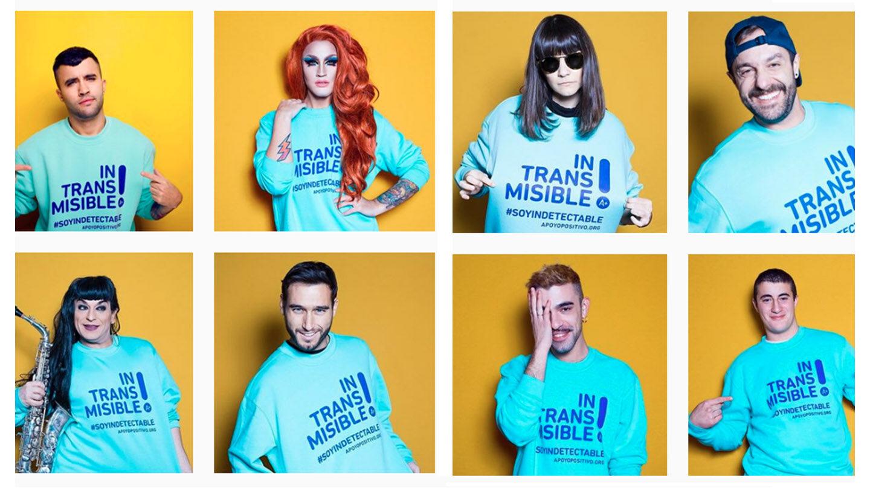 Una campaña contra el VIH/sida