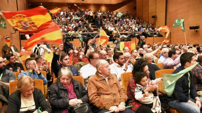 Acto de Vox en Bilbao.