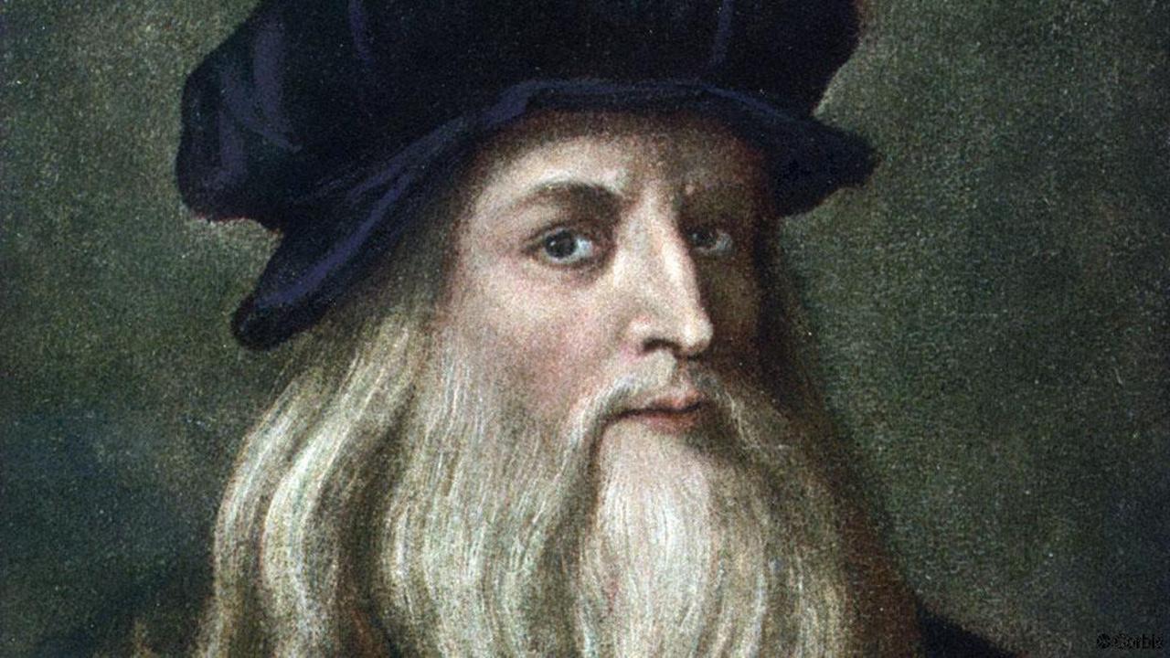Autorretrato de Leonardo da Vinci.