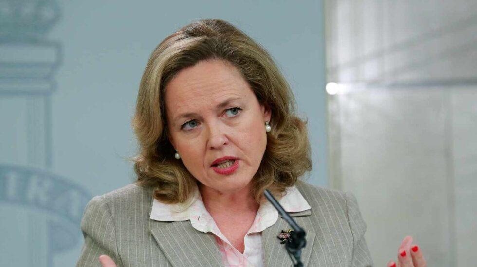 Nadia Calviño, ministra de Economía y Empresa..
