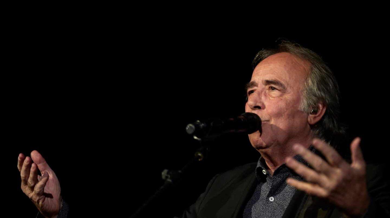 Joan Manuel Serrat, en un concierto en Barcelona.