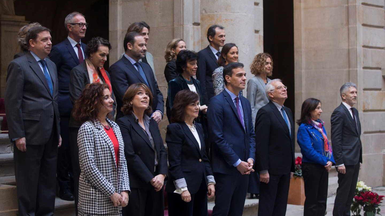 El Consejo de Ministros, reunido en Barcelona.