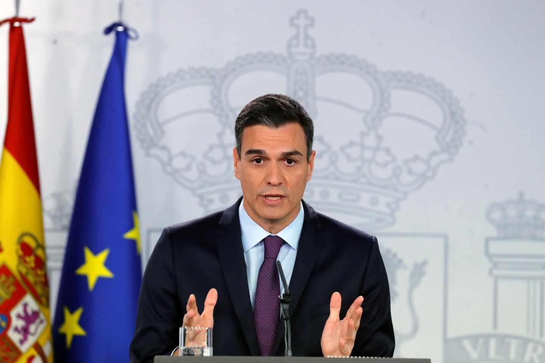 Pedro Sánchez hace balance del año.