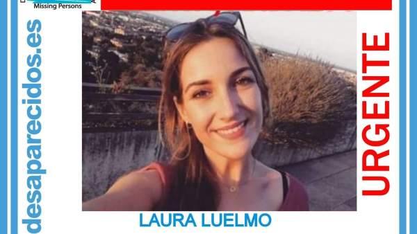 Retrato de Laura Luelmo publicado por SOS Desaparecidos.