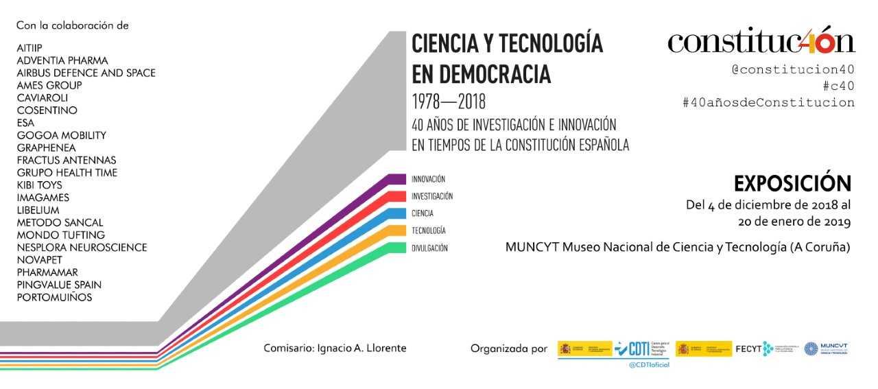 Cartel de la exposición 'Ciencia y Democracia'