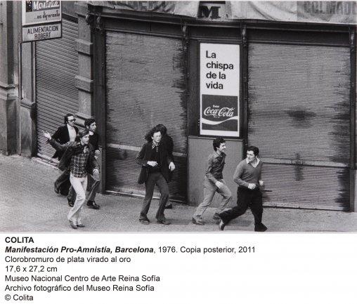 'Colita'. Manifestación Pro-Amnistía, Barcelona (1976)
