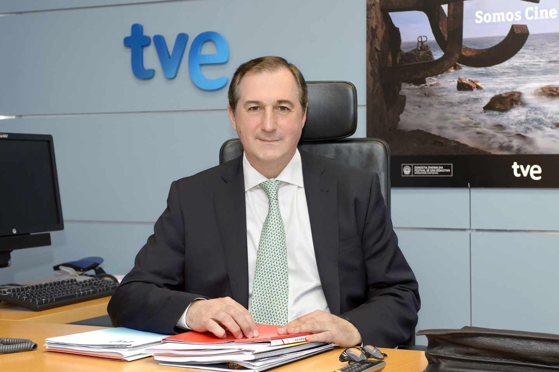 Fotografía de archivo del director de TVE y candidato a la presidencia de RTVE, Eladio Jareño.