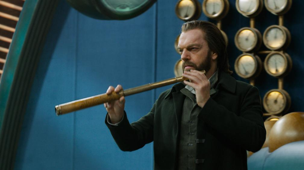 Hugo Weaving, protagonista de 'Máquinas Mortales'