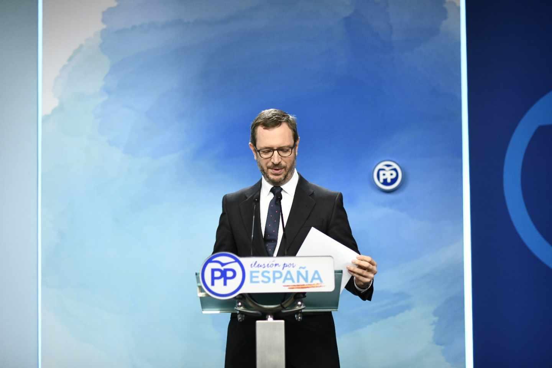 El vicesecretario de Organizazión del PP, Javier Maroto.